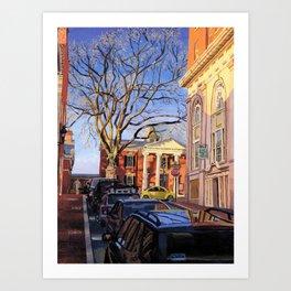 KJP, C-ville, VA Art Print
