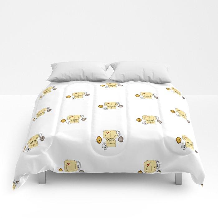 LOVE to unclock Comforters