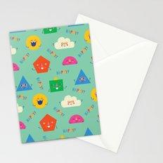 Happy! Pattern Stationery Cards