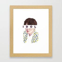 Idol vs02 Framed Art Print