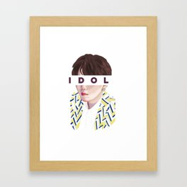 Idol vs02 Framed Art Print