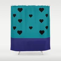 allison argent Shower Curtains featuring Allison Argent by smartypants