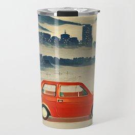 Red Polski Fiat  Travel Mug