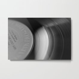 33&1/3-RPM Metal Print