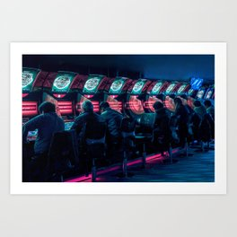 Enter the Void Art Print