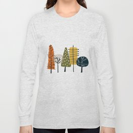 Fall Pattern Long Sleeve T-shirt
