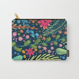 les prairies (navy) Carry-All Pouch