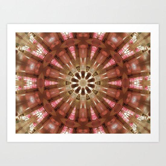 Circle of life (Mandala) Art Print