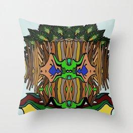 Treeentish Throw Pillow