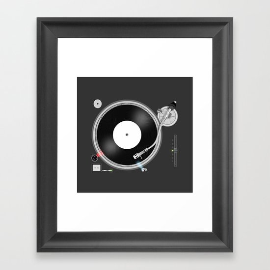 Ready to play! Framed Art Print