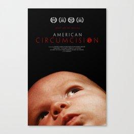 American Circumcision Movie Poster - Baby Canvas Print