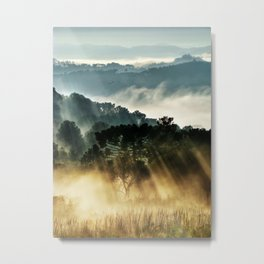 Morninglow Metal Print