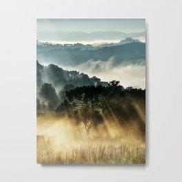 Morninglow Metal Print