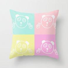 Pandas Throw Pillow