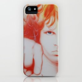 'I See Your Hair Is Burning' iPhone Case