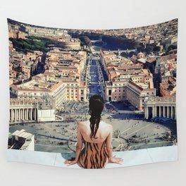Santa Sede Wall Tapestry