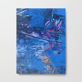 Eros: a beautiful, vibrant abstract painting by Alyssa Hamilton Art Metal Print
