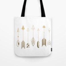 Be Brave Little Arrow (gold) Tote Bag