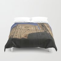 florence Duvet Covers featuring Florence Italy  by Siobhan N Malone
