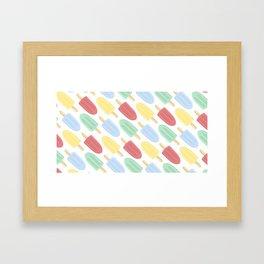 Popsicle Framed Art Print