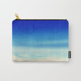 Sky Watercolor Texture Abstract 710 Carry-All Pouch