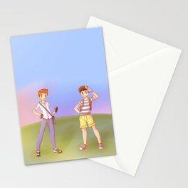 Pkmn Klaine  Stationery Cards