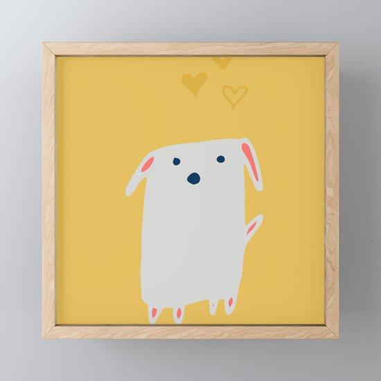 Cute sweet Dog Yellow by susycosta