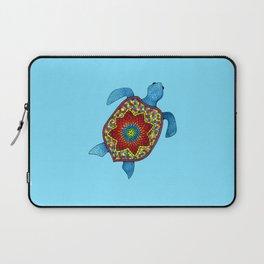 Turtley Awesome Mosaic Turtle Laptop Sleeve