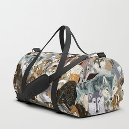 Wolves o´clock (Time to Wolf) Duffle Bag