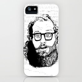 Holy Beat Ginsberg iPhone Case
