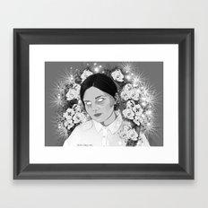 M-M-M Framed Art Print