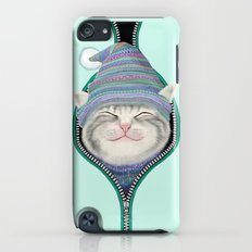 Cat in the zip Slim Case iPod touch