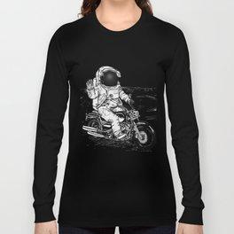 Moon Biker Long Sleeve T-shirt