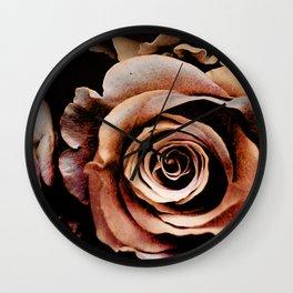 Vintage rose(3) Wall Clock