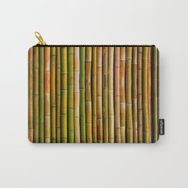 Bamboo fence, texture Carry-All Pouch