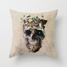 Istanbul Skull 2 Throw Pillow