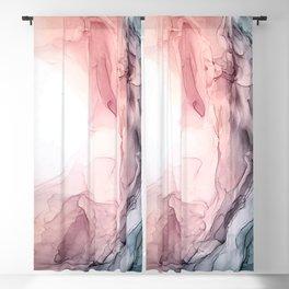 Blush and Blue Dream 1: Original painting Blackout Curtain