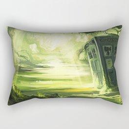 Tardis Trapped In The Swamp Rectangular Pillow