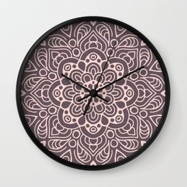 Mandala II Wall Clock