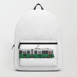 Boston Green Line Train Backpack