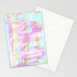 abstract pastell  Stationery Cards