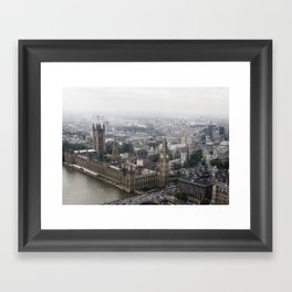 Big Ben from the London Eye Framed Art Print