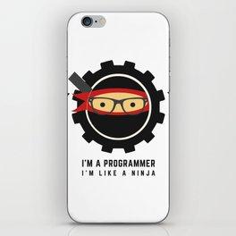 Programmer - Ninja Programmer iPhone Skin