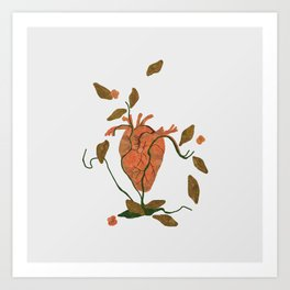 Find My Heart Art Print