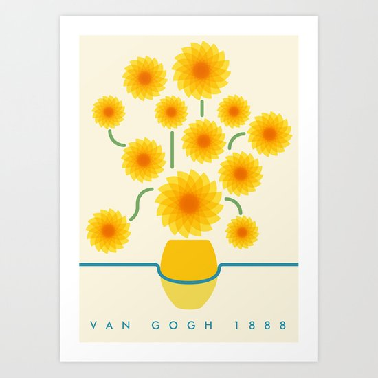 Van Gogh 1888 Art Print