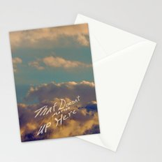That Doesn't Matter Up Here Stationery Cards