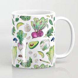 Superfood Pattern Coffee Mug