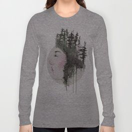 """""""Sometimes, even the snow is sad."""" Long Sleeve T-shirt"""