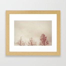 Exhale. Framed Art Print