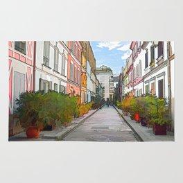 Rue Cremieux in Paris Rug